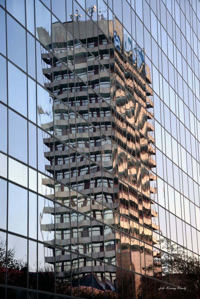 Tall building mirror image by kork