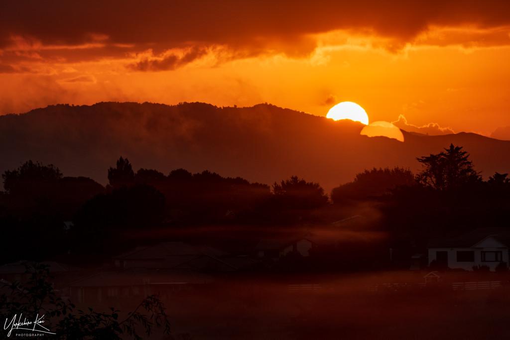 Reflecting Sun by yorkshirekiwi