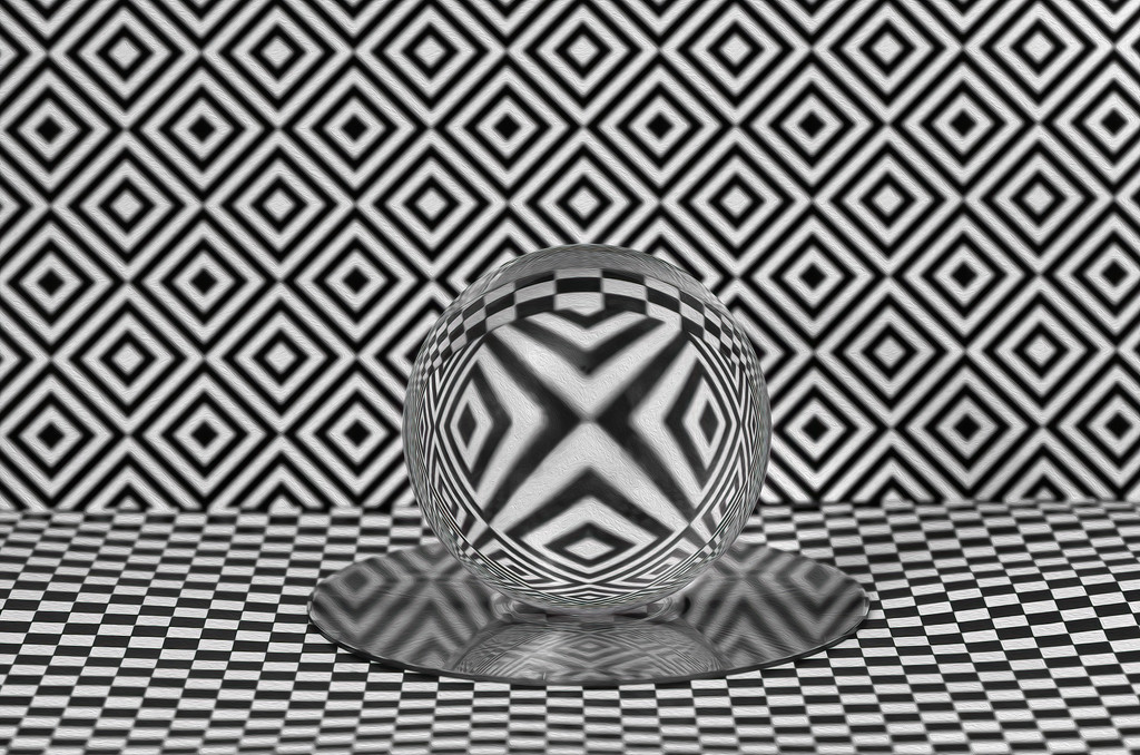 Abstract Crystal Ball by sprphotos