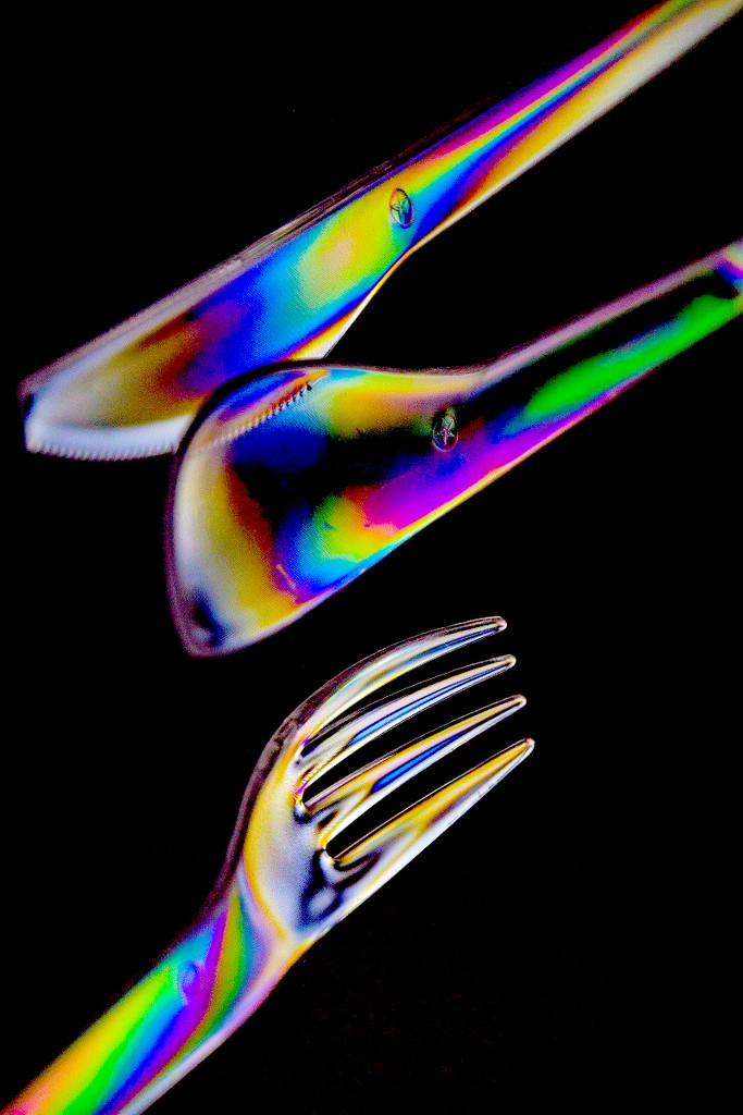 Photoelasticity - Utensils by granagringa