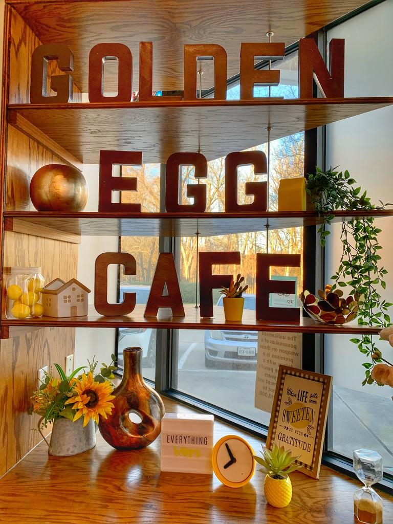 The Golden Egg Cafe  by louannwarren