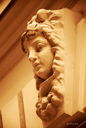 13th Jan 2021 - A face above the entrance to the house .....