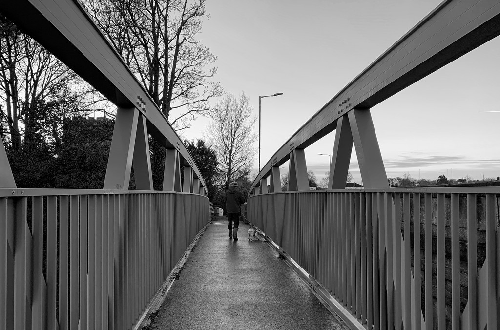 Pedestrian bridge by happypat