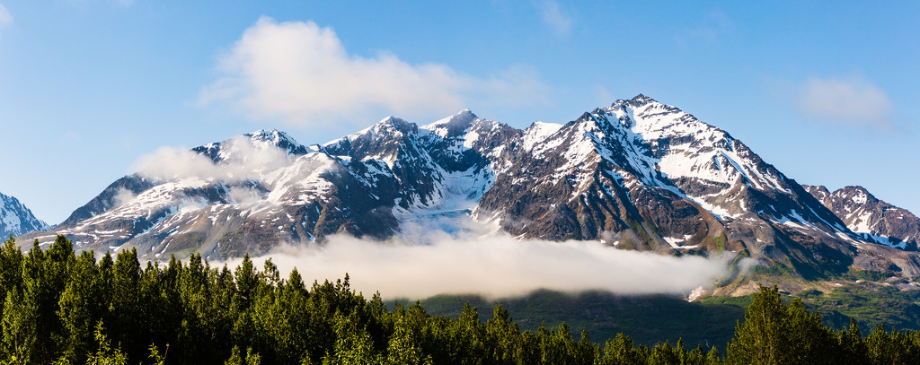 Mountains of Alaska by photograndma