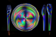 13th Jan 2021 - Photoelasticity - place setting