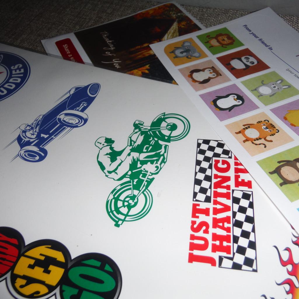 Sticker Day by spanishliz