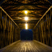 Inside of a Covered Bridge by cwbill
