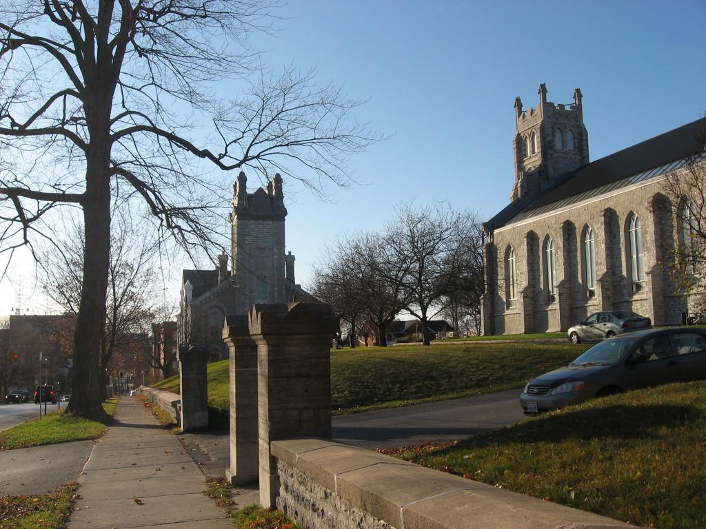 Buildings #7: Pair of Churches by spanishliz