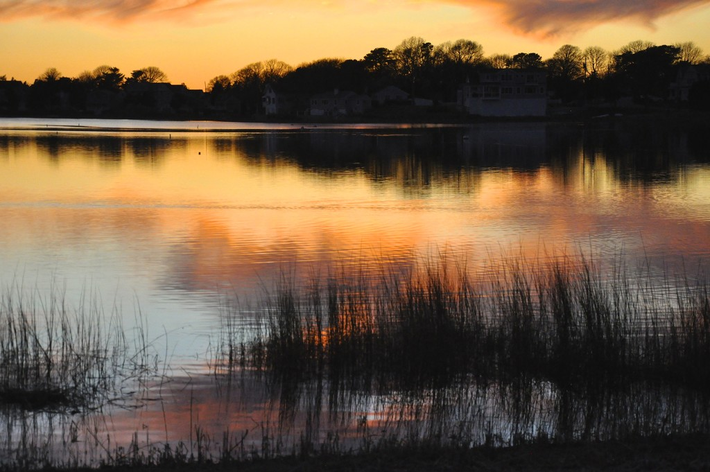 Reflections  Sunset series #5 by sailingmusic