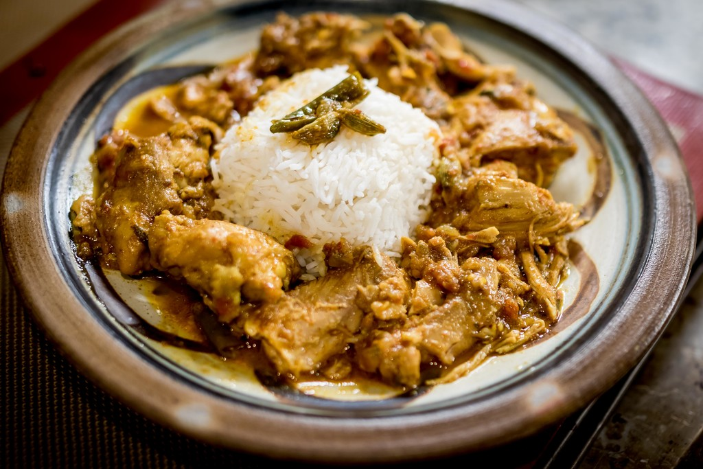 Chicken Curry with Basmati Rice by darylo