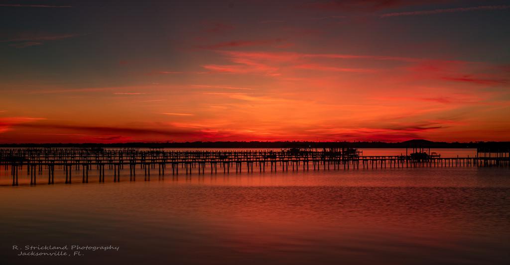 A Firey Sunset Tonight! by rickster549