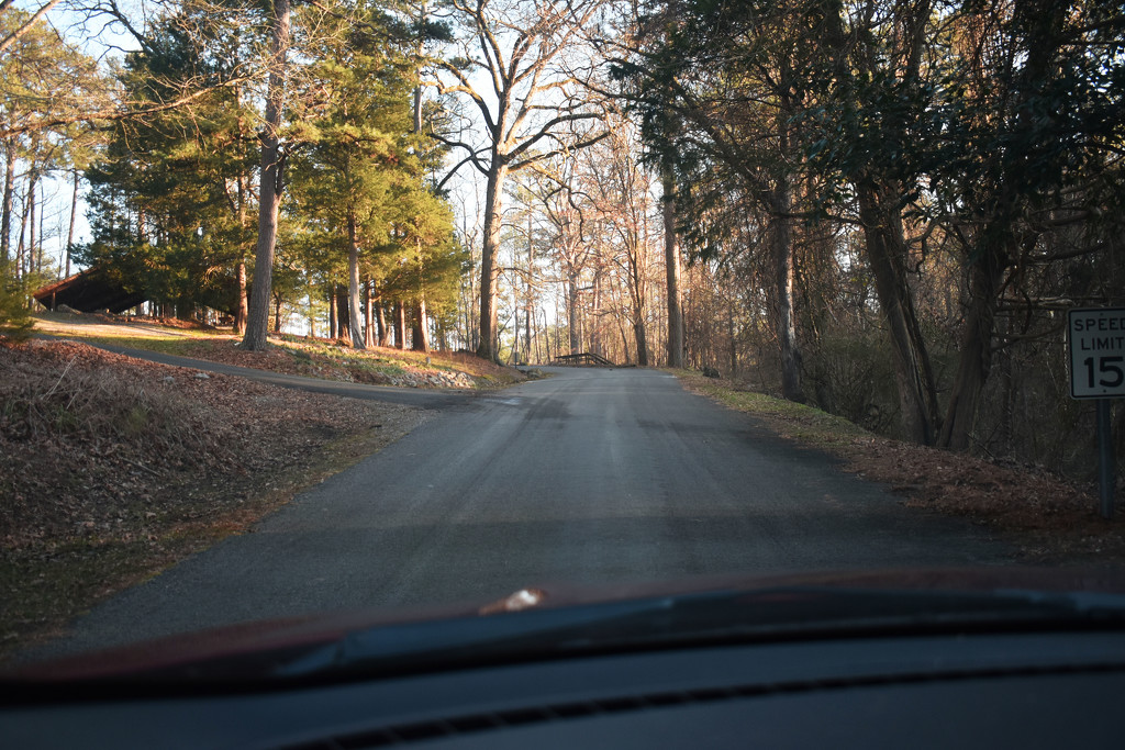 The road in is steep by homeschoolmom