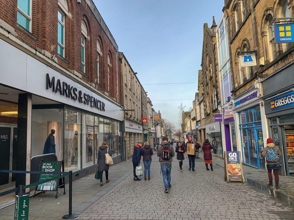 Penny Street, Lancaster by happypat