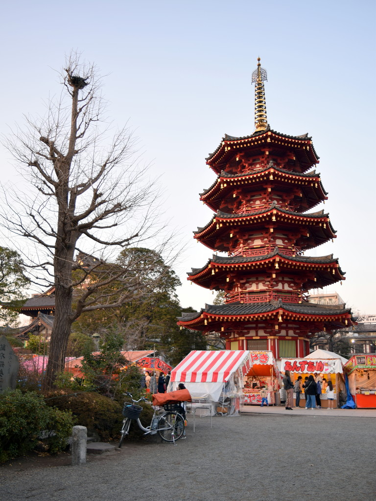 2021-01-16 Pagoda @ Kawasaki Daishi by cityhillsandsea