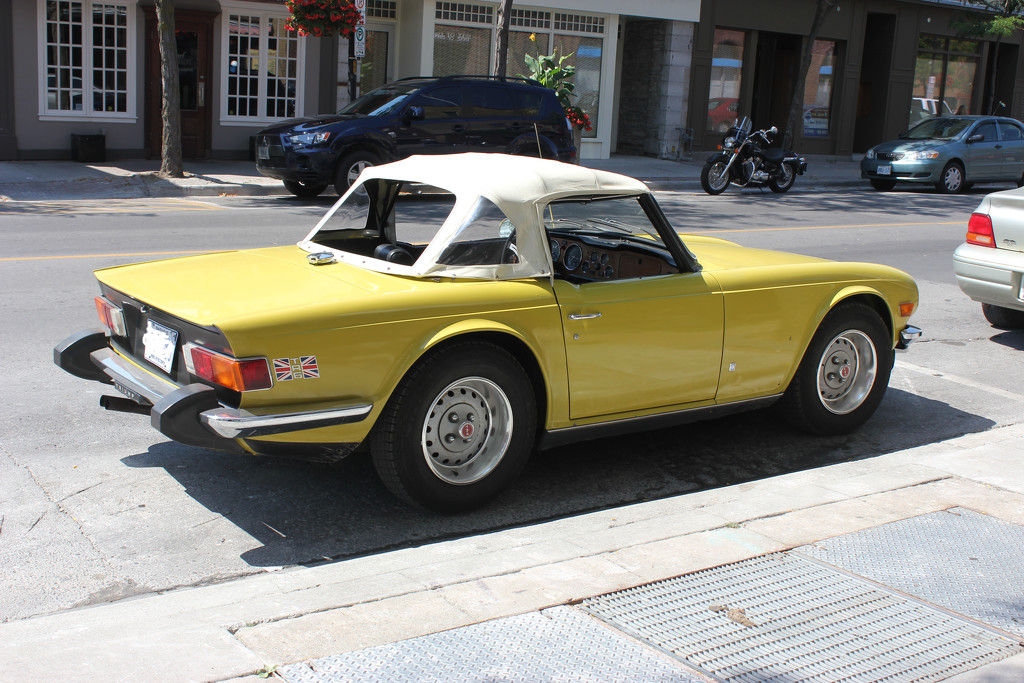 Car #2: Triumph TR6 by spanishliz