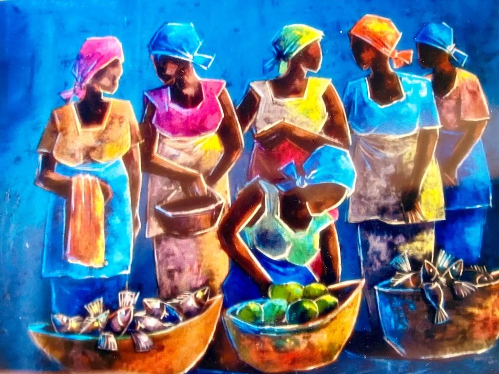 Zambian Artist by maggiemae