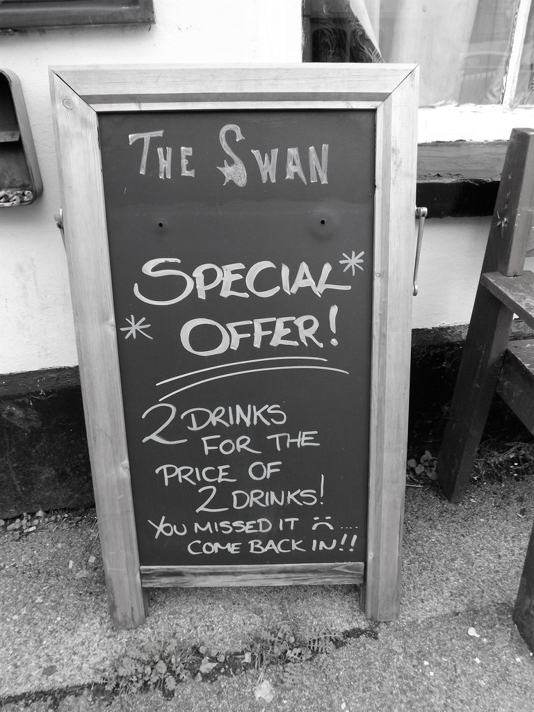The Swan Special Offer by ajisaac