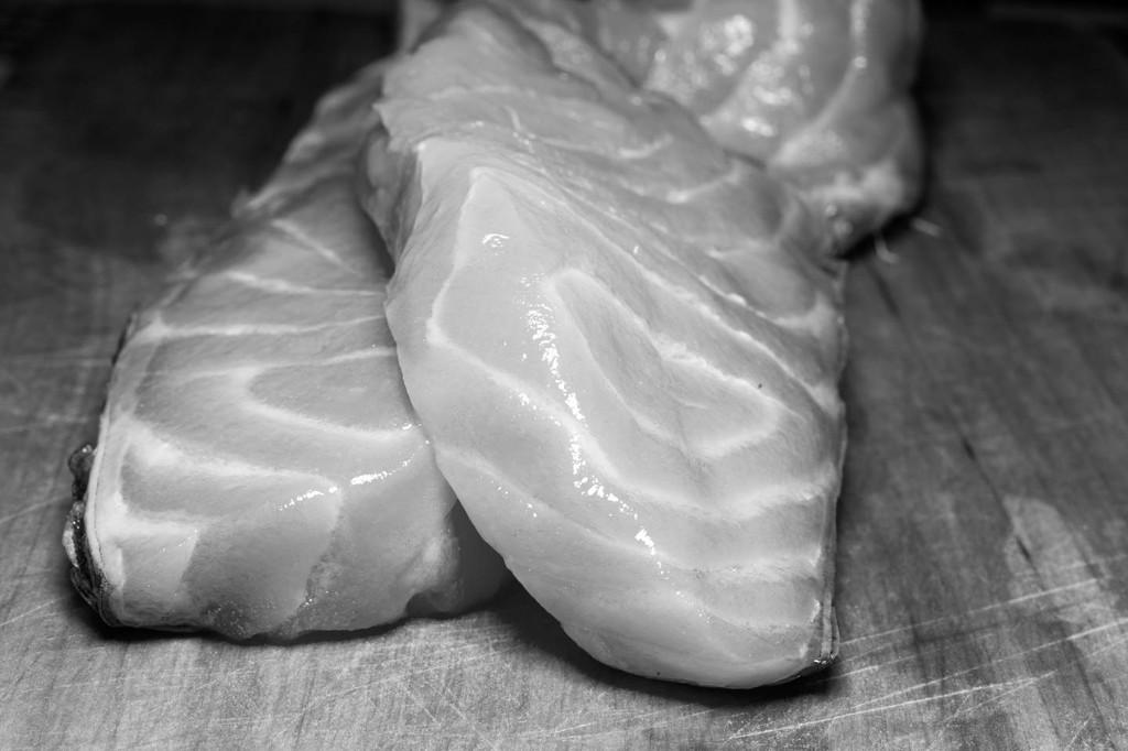 Fresh Salmon by jborrases
