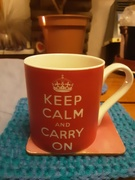 8th Jan 2021 - Keep Calm and Carry on.