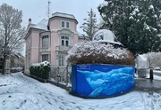19th Jan 2021 - Pink house and blue whales.