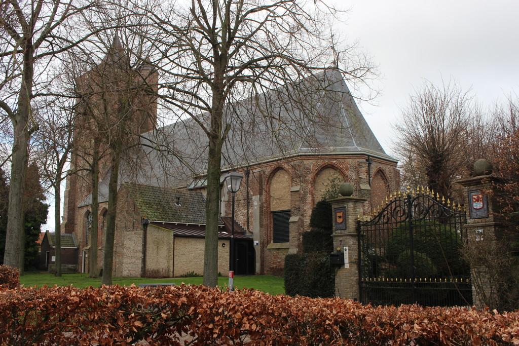 The Sint-Maartenschurch.  Baarland  by pyrrhula