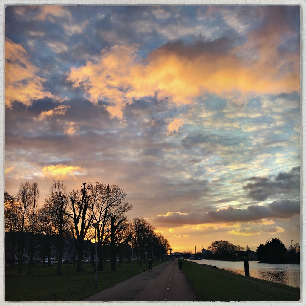 Orange clouds by mastermek