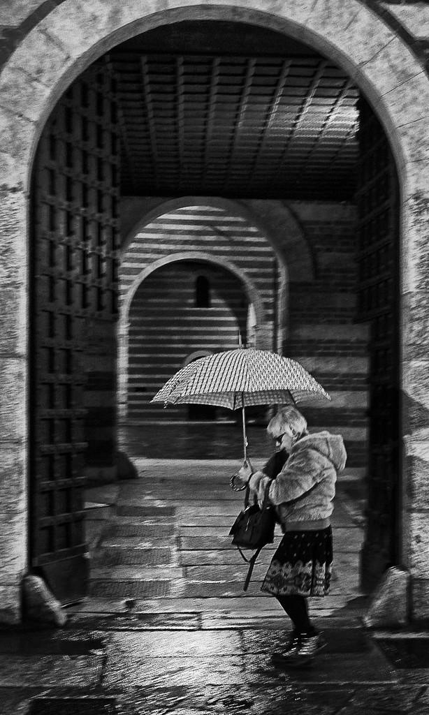 umbrella and stripes BoB by caterina
