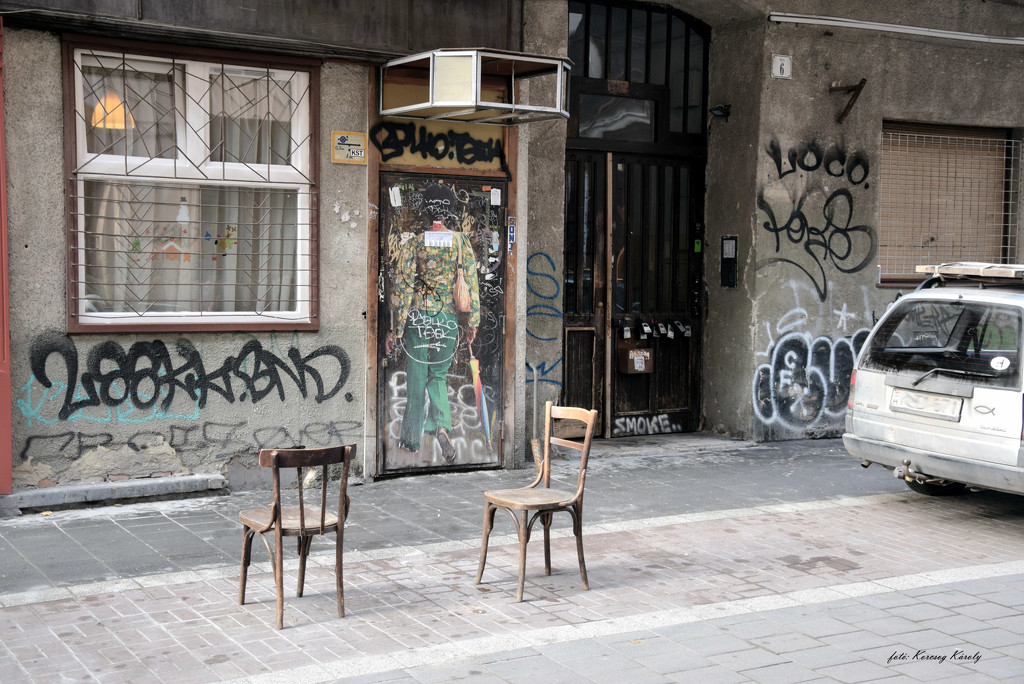 Street furniture is a little different by kork