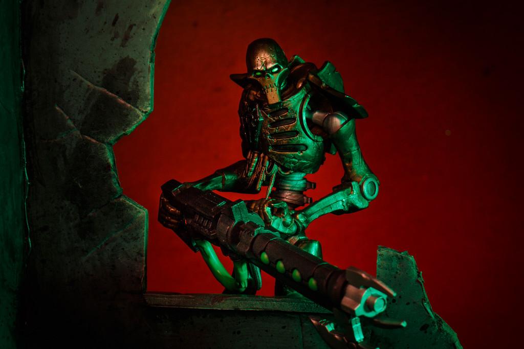 Necron Warrior by batfish