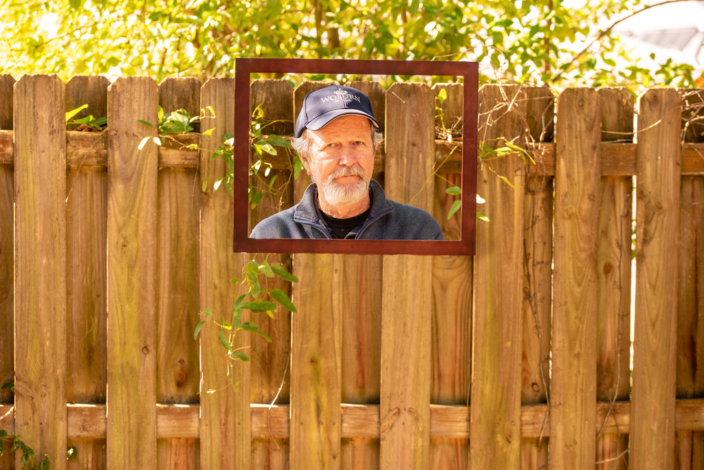 Rick Photo in the Backyard! by rickster549