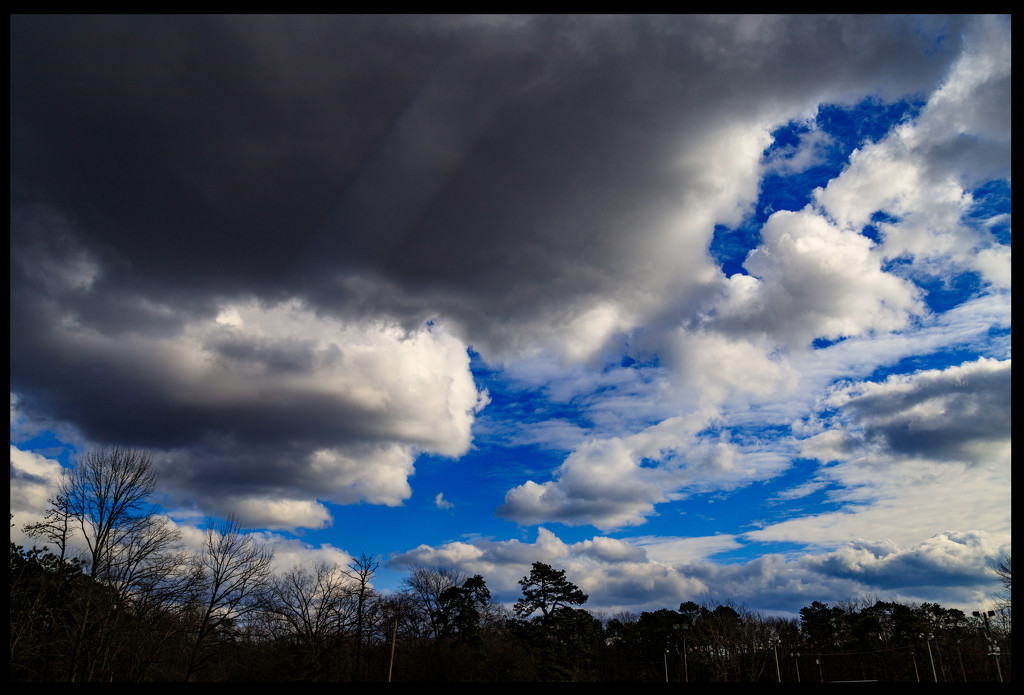 Interesting Sky by hjbenson