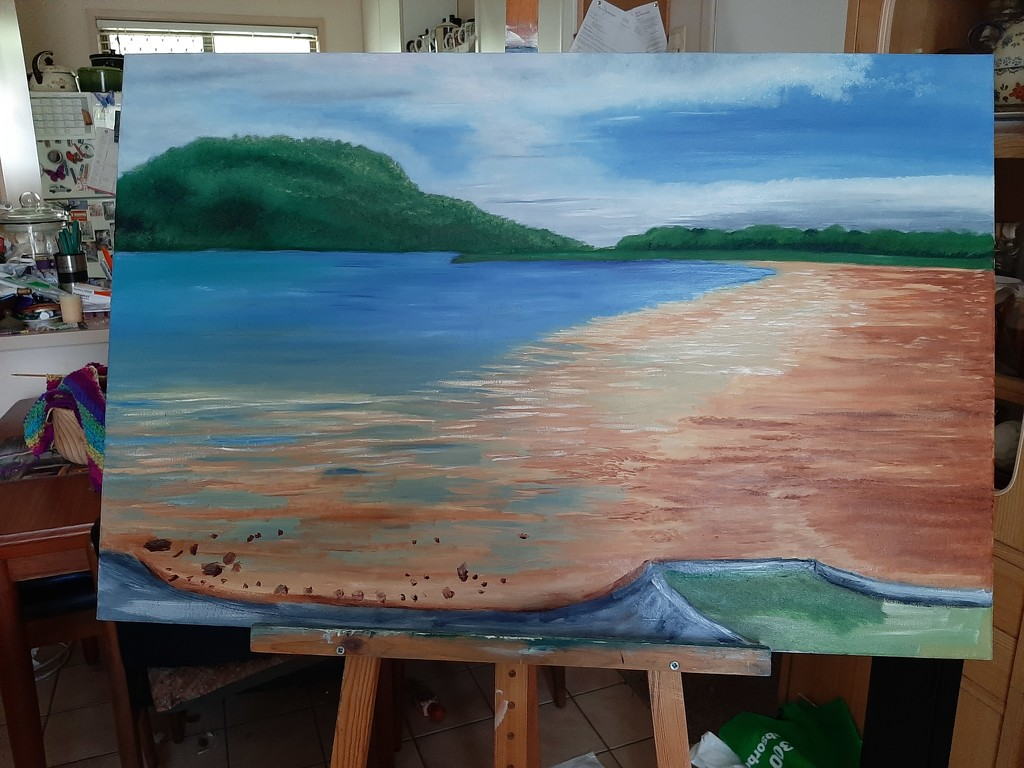 Low Tide almost finished  by mozette