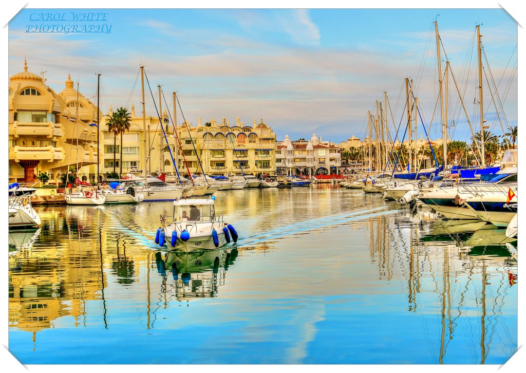 The Golden Hour,Benalmadena Marina (filler) by carolmw