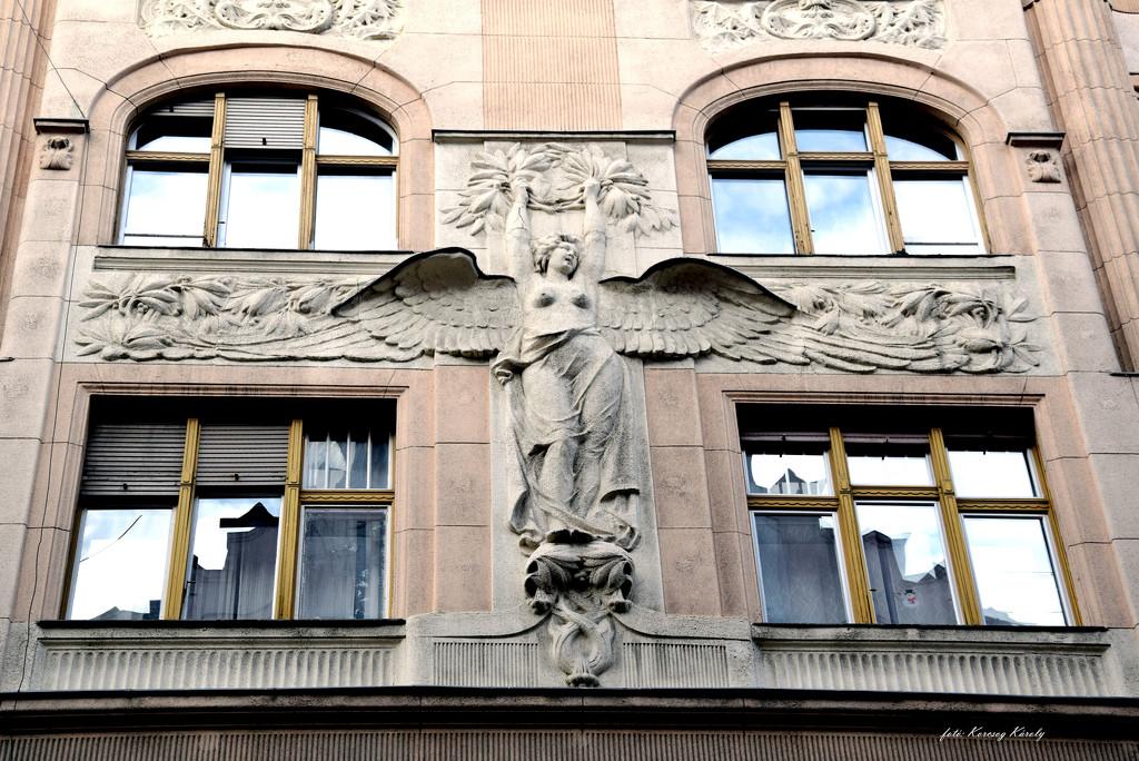 Angel with windows .... by kork