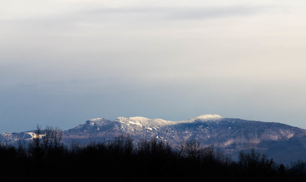 View of Grandfather Mountain this morning by randystreat