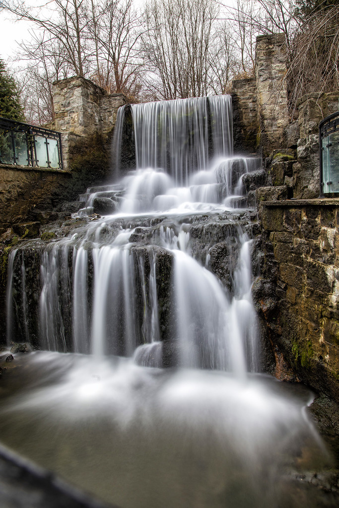 Ancaster Upper Mill Falls by pdulis