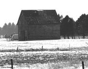19th Jan 2021 - Barn B&W
