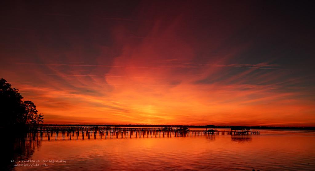 Another Firey Sunset! by rickster549