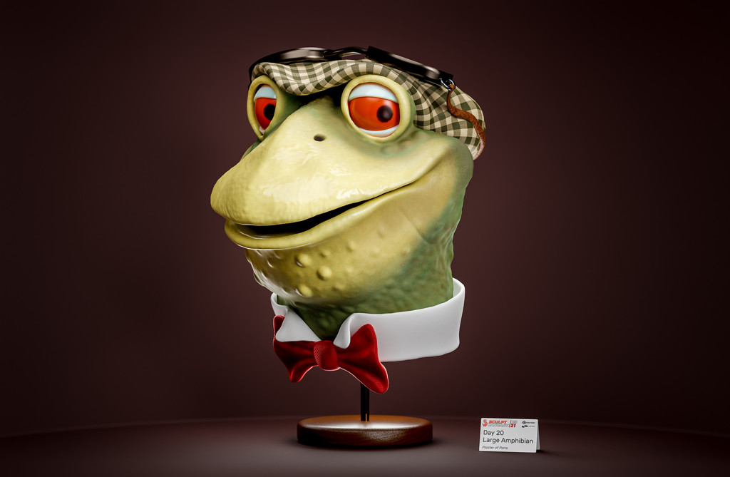 Large Amphibian by humphreyhippo