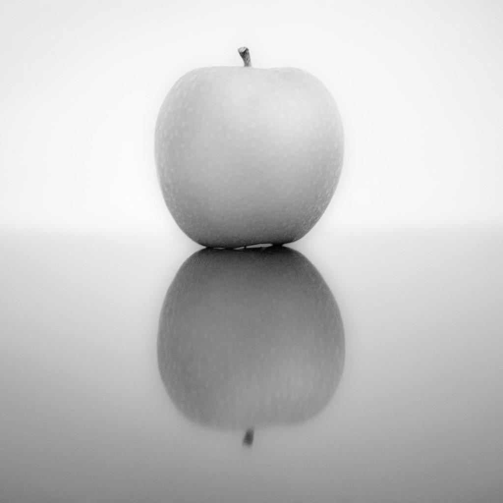 Apple in Black & White by seanoneill