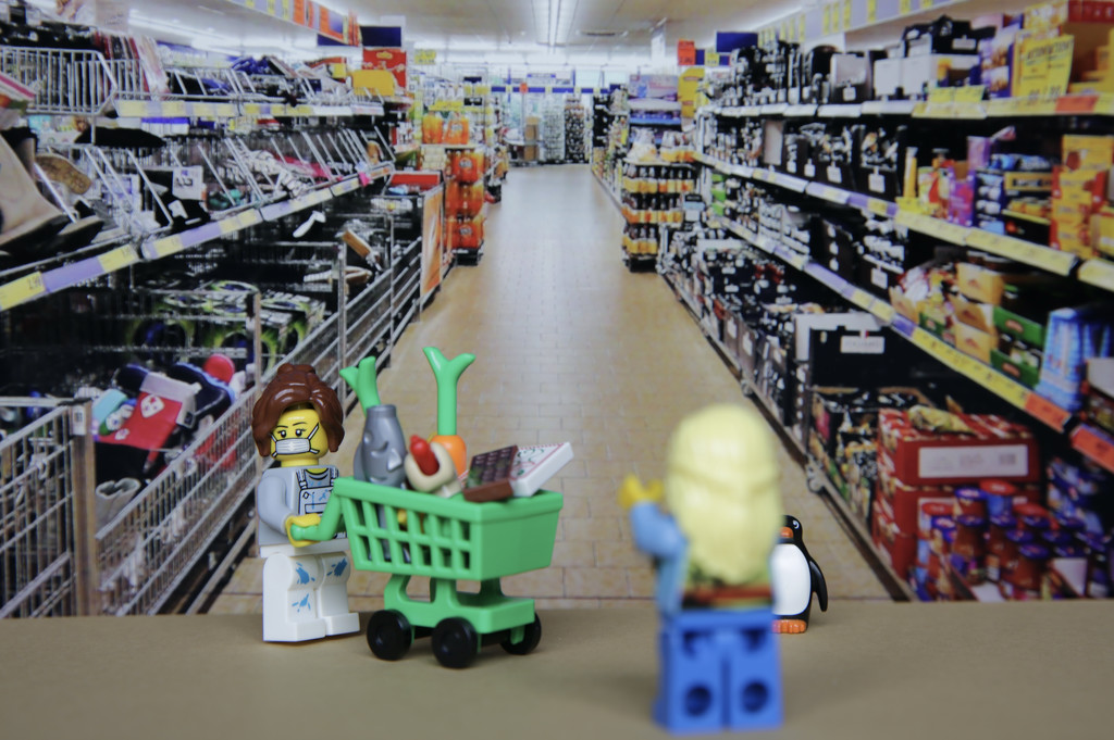 Running the gauntlet in the supermarket by wag864