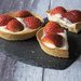 Strawberry tarts.