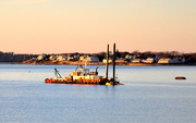 20th Jan 2021 - Dredger is done........