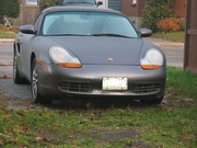 20th Jan 2021 - Cars #6: Porsche, in My Driveway