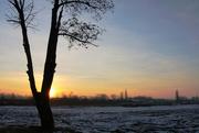 21st Jan 2021 - Východ slunce za Kauflandem