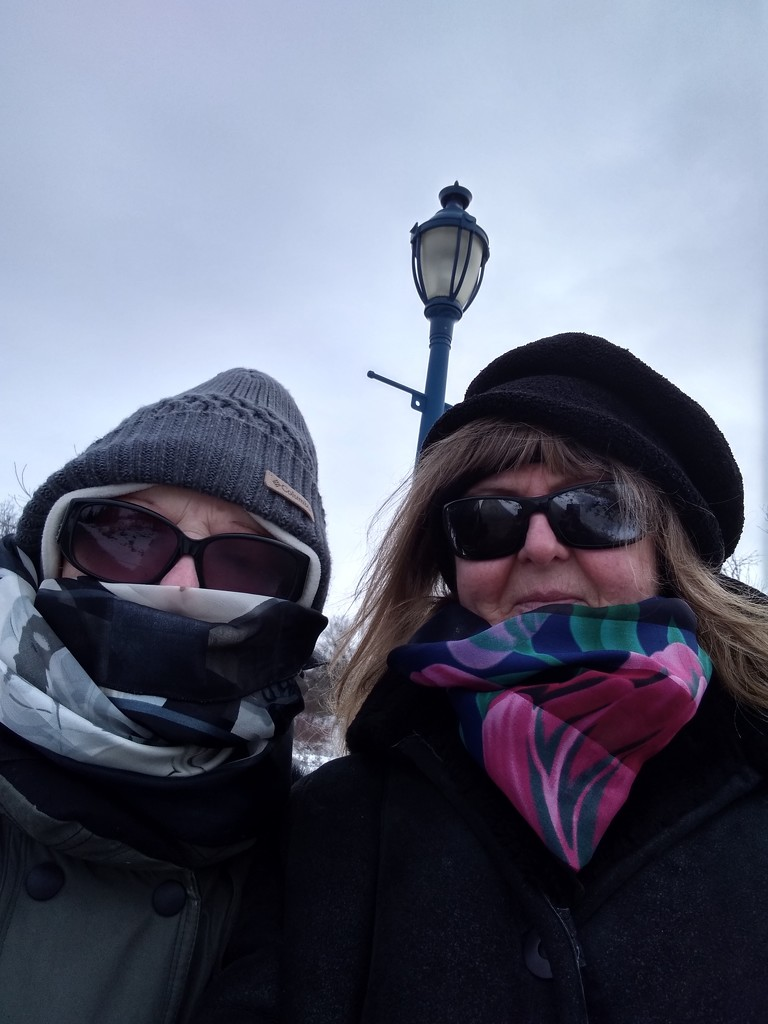 Yes it was cold and windy by bruni