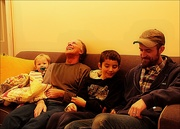 20th Jan 2021 - Three Generations on One Couch