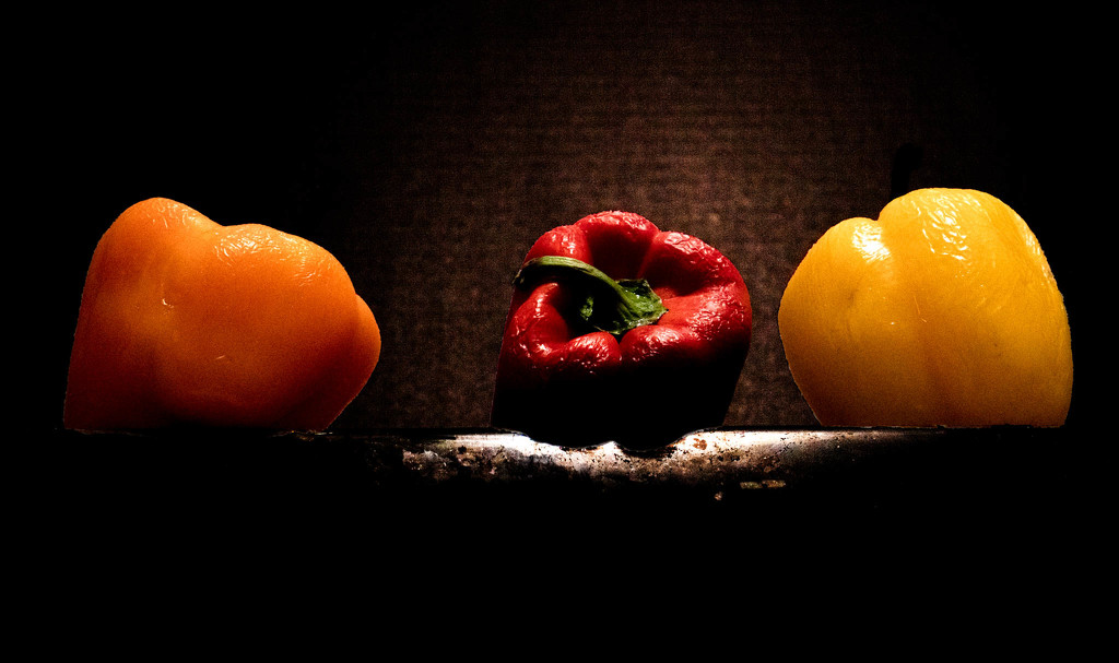 Three old peppers by randystreat