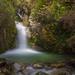 Hidden waterfall in Queenstown