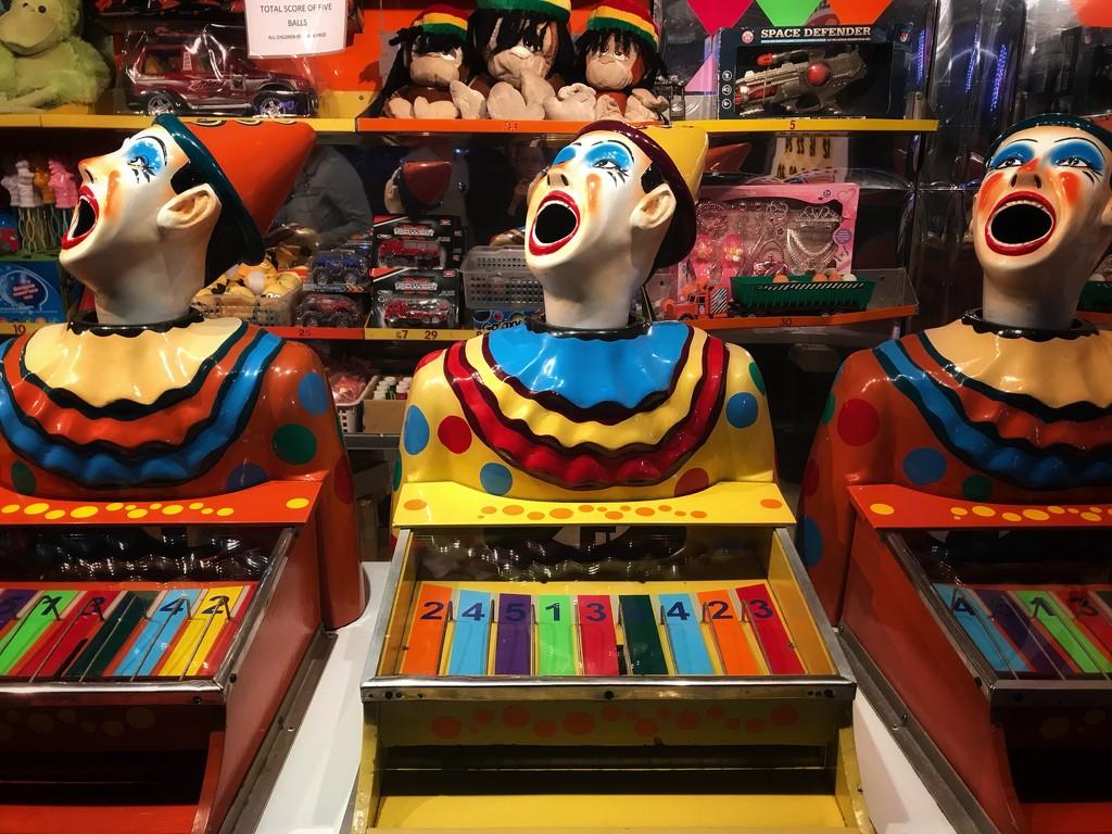 Carnival Clowns by carolinesdreams